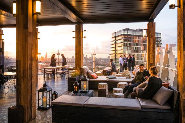 Novotel London Canary Wharf Rooftop Terrace