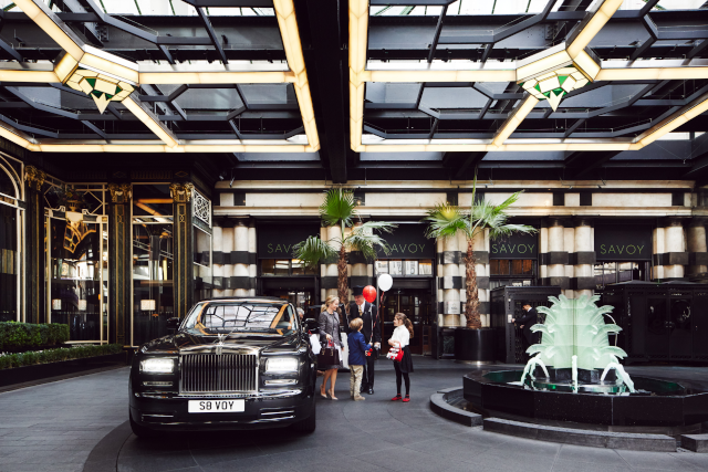 Savoy Entrance