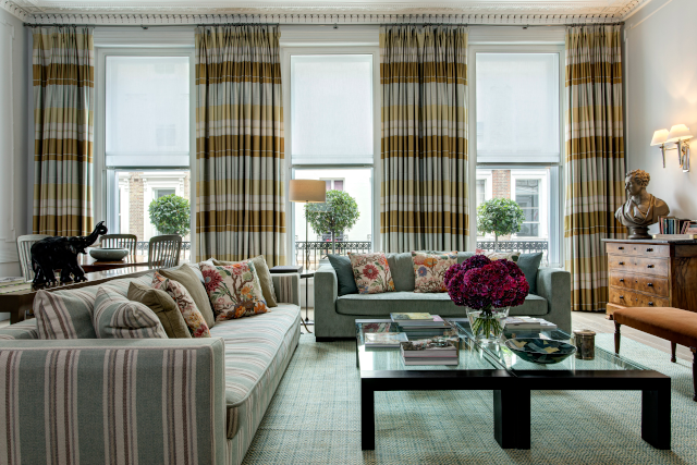 Brown's Hotel - The Kipling Suite Living Room - Photo Credit - Janos Grapow