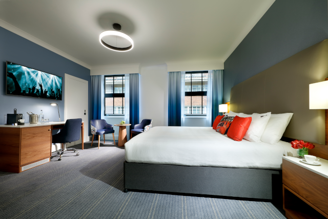 Hard Rock Hotel London Bedroom