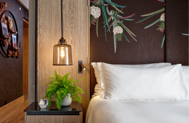 Hilton Bankside Vegan Suite Bedroom 2