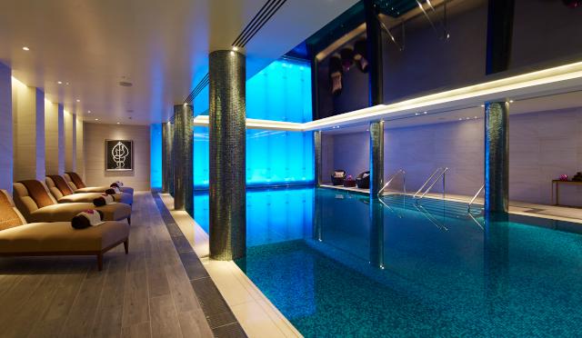 London Marriott Hotel Park Lane Pool