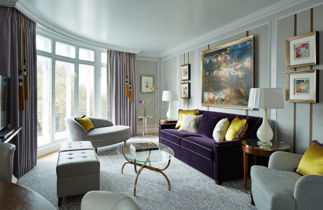 London Marriott Hotel Park Lane Room