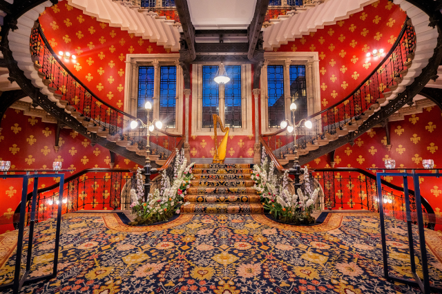 St Pancras Renaissance Hotel The Patisseria by Ioana Porav