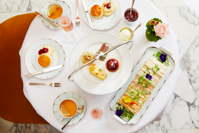 The Dorchester-Autumn Afternoon tea-Aerial