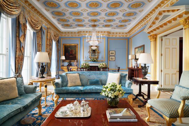 The Lanesborough London Royal Suite Lounge